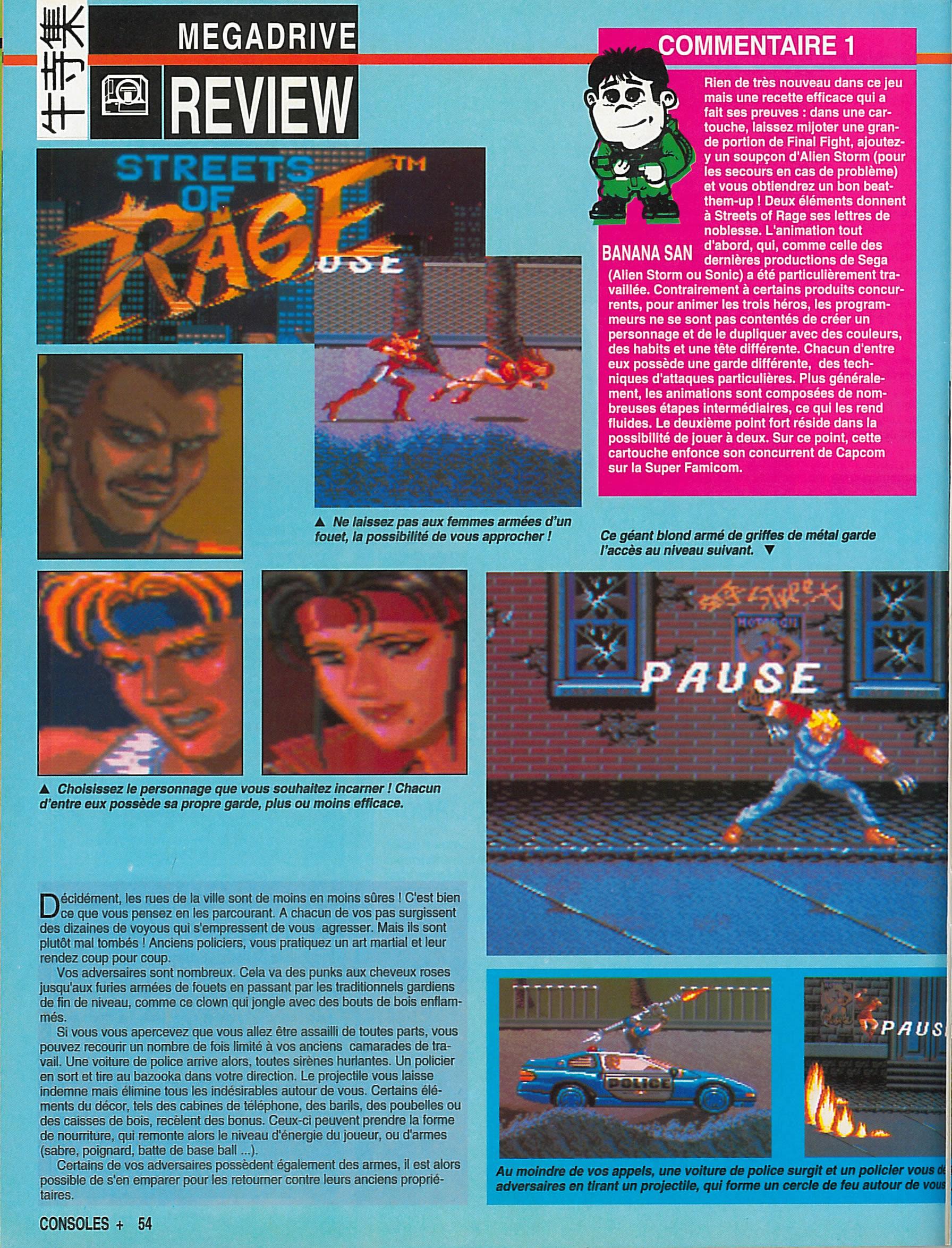 MEGADRIVE vs SUPER NINTENDO : Fight ! - Page 27 Consoles%20%2B%20001%20-%20Page%20054%20%28septembre%201991%29