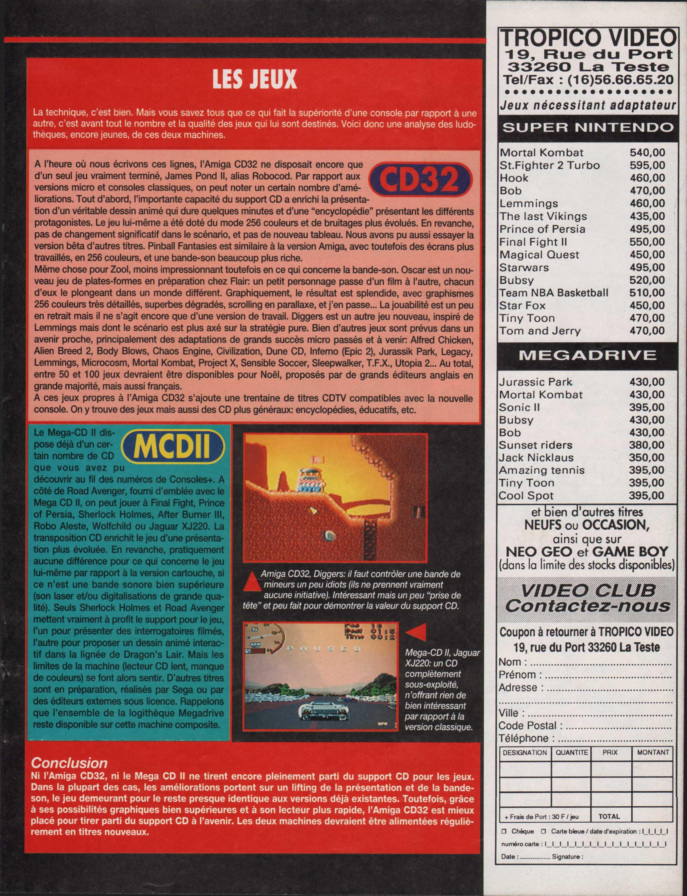 MEGADRIVE vs SUPER NINTENDO : Fight ! - Page 31 Consoles%2B%20024%20-%20Page%20089%20%281993-10%29