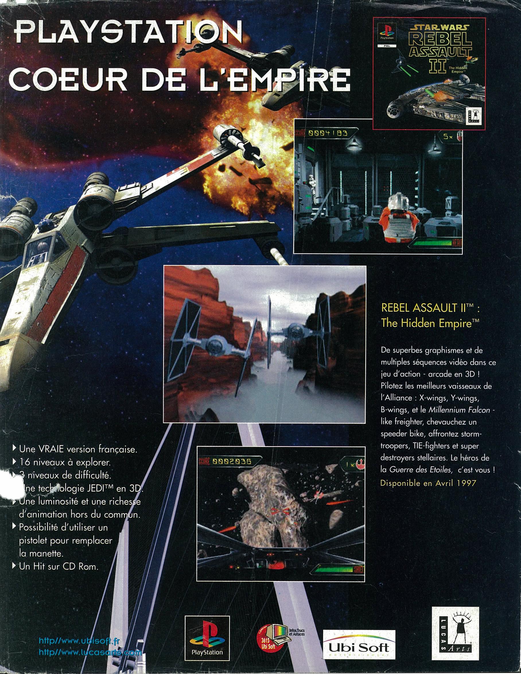 Star wars : dark forces  / Star wars : rebel aussault 2 Consoles%20%2B%20064%20-%20Page%20003%20(avril%201997)