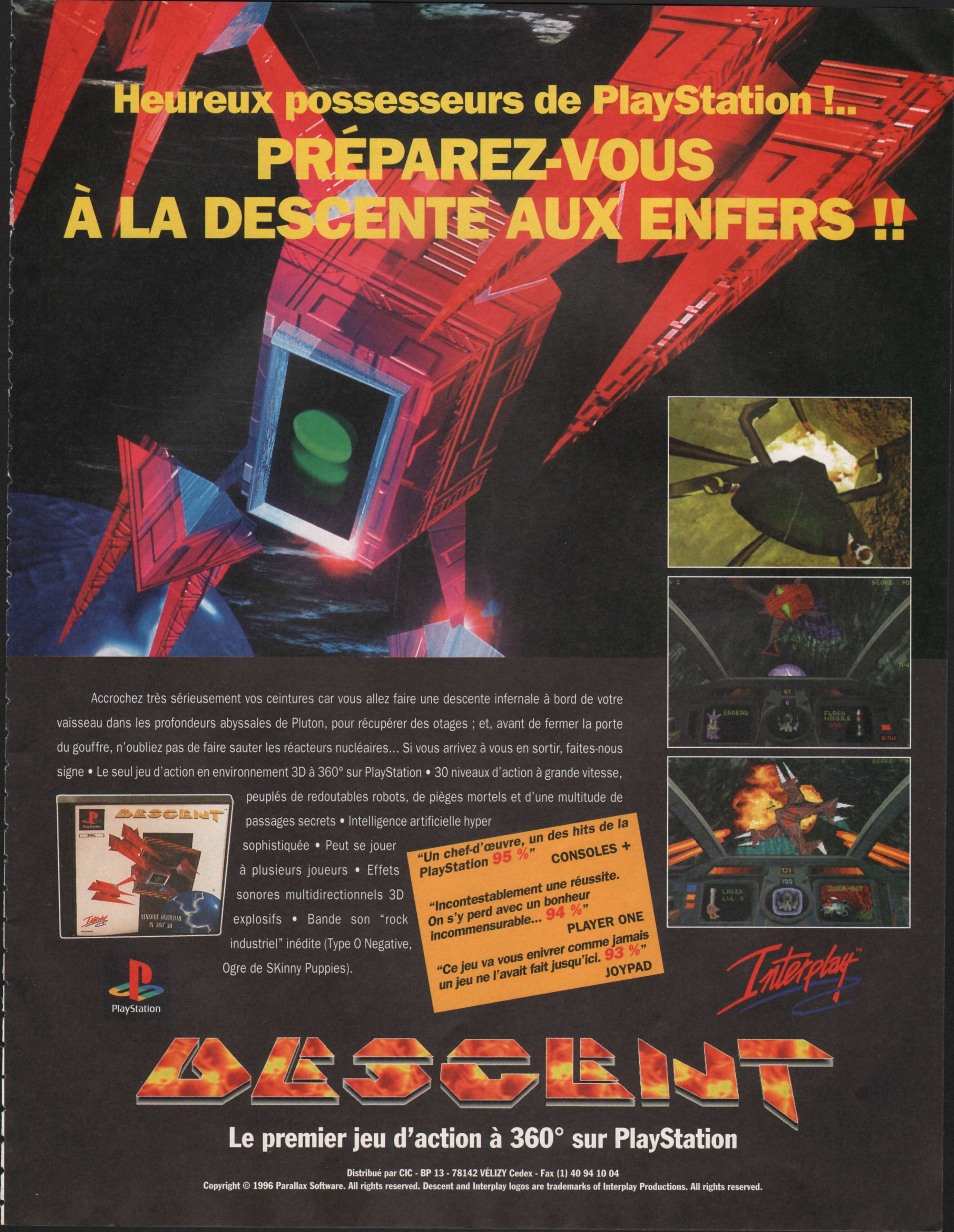 Descent  Playstation%20Magazine%20003%20-%20Page%20019%20(1996-05-06)