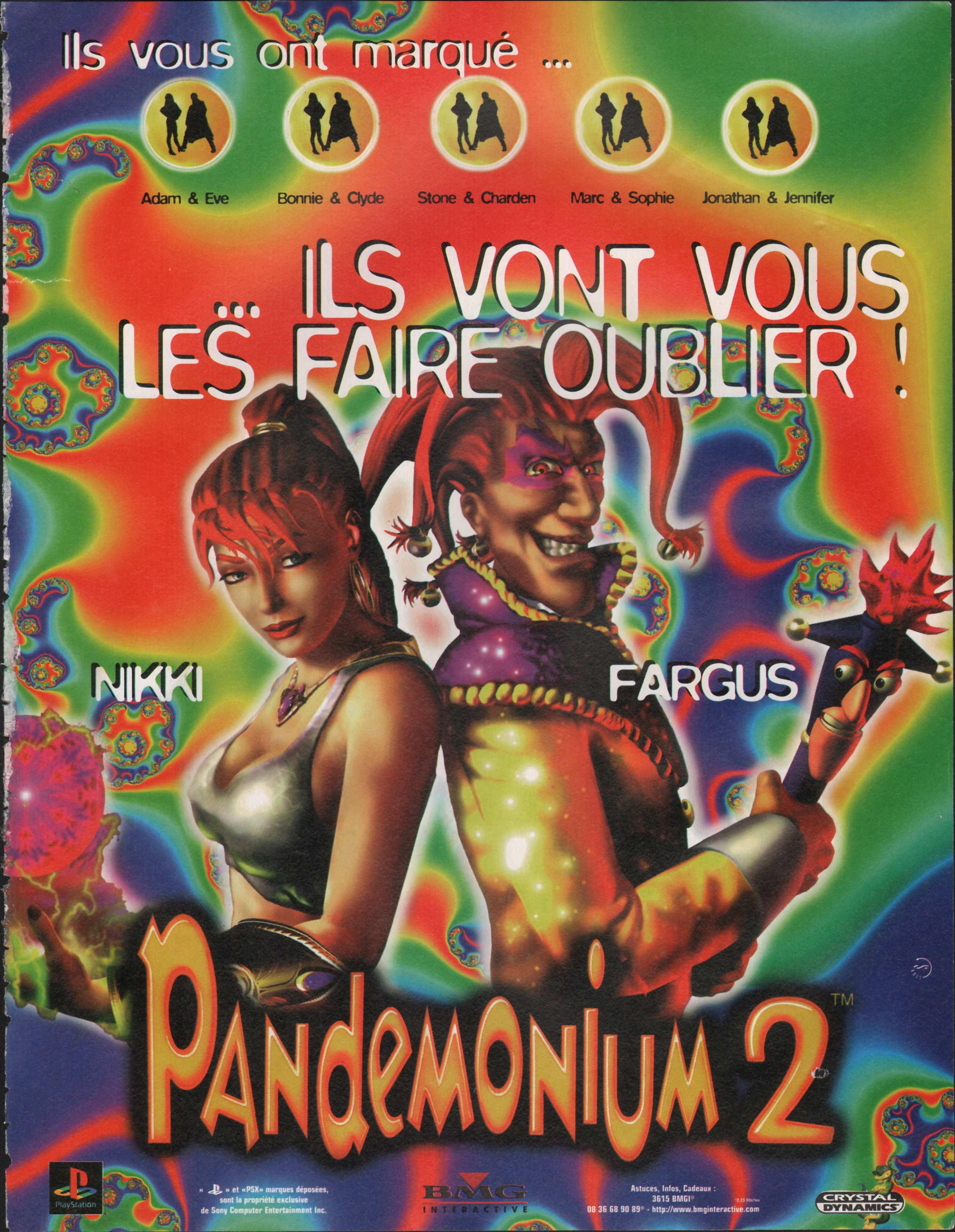 Pandemonium 2 Playstation%20Magazine%20016%20-%20Page%20005%20(1998-01)