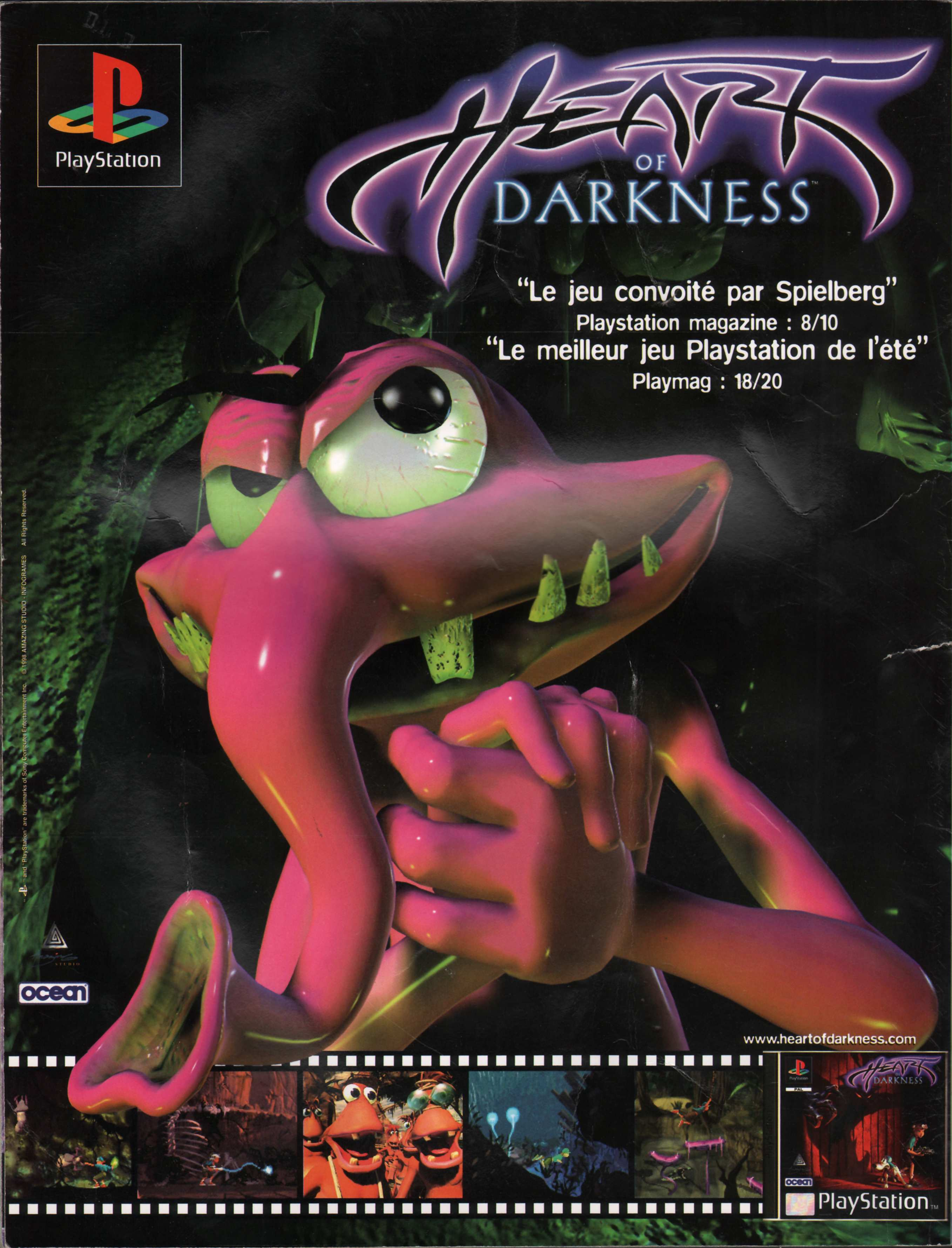 Heart of darkness Playstation%20Magazine%20HS4%20-%20Page%20132%20(1998-07-08-09)