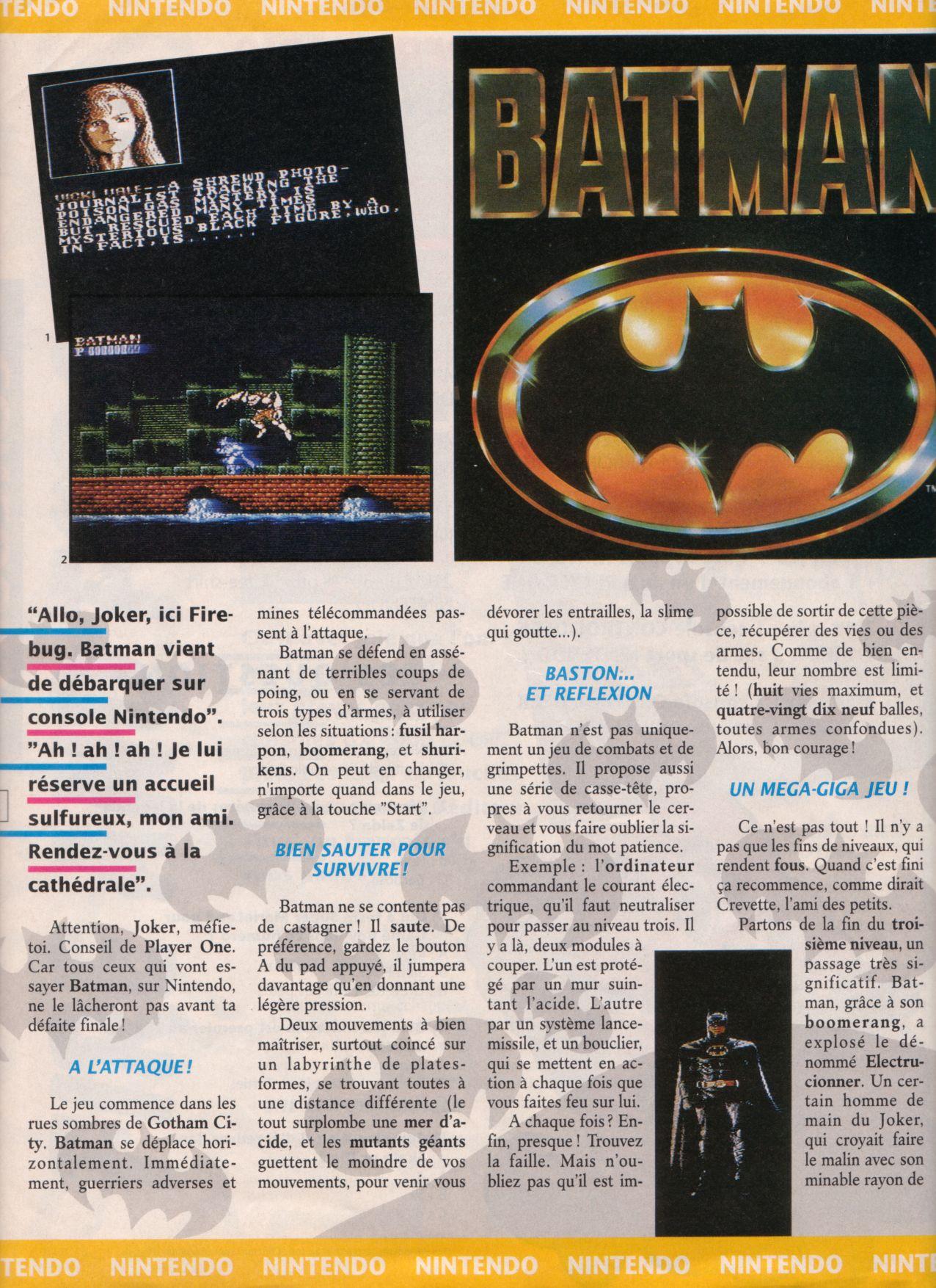 [Jeux]   BATMAN (NES) 1989. Player%20One%20002%20-%20Page%20028%20(1990-10)