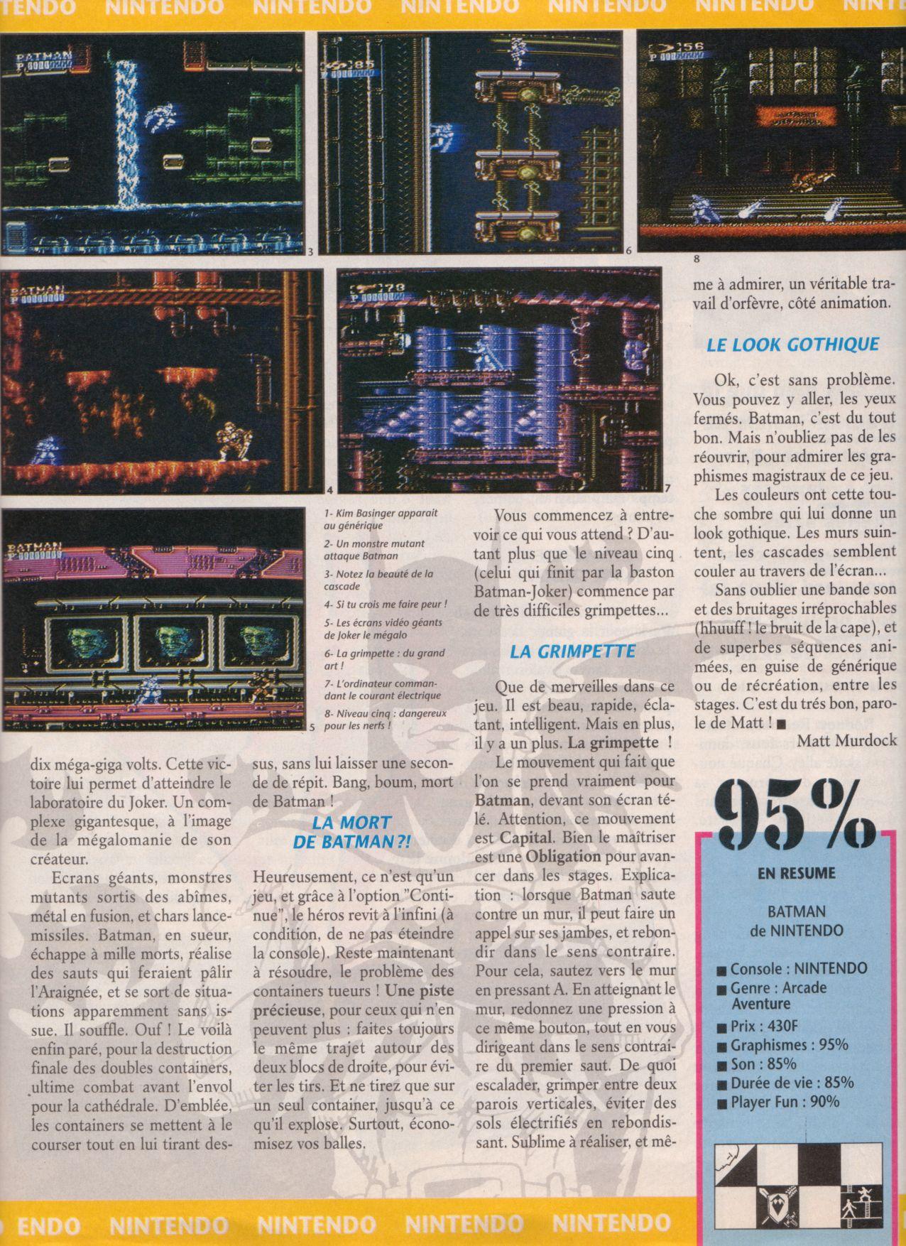 [Jeux]   BATMAN (NES) 1989. Player%20One%20002%20-%20Page%20029%20(1990-10)