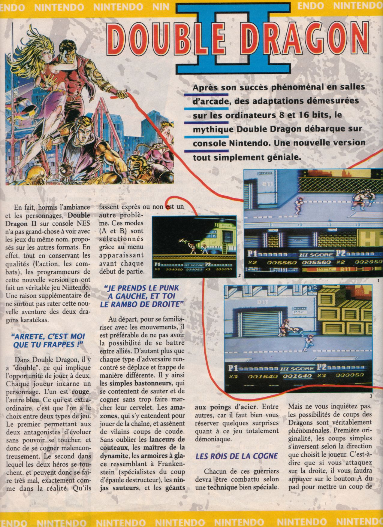 [Jeux]   DOUBLE DRAGON II (NES) 1989. Player%20One%20003%20-%20Page%20028%20(1990-11)