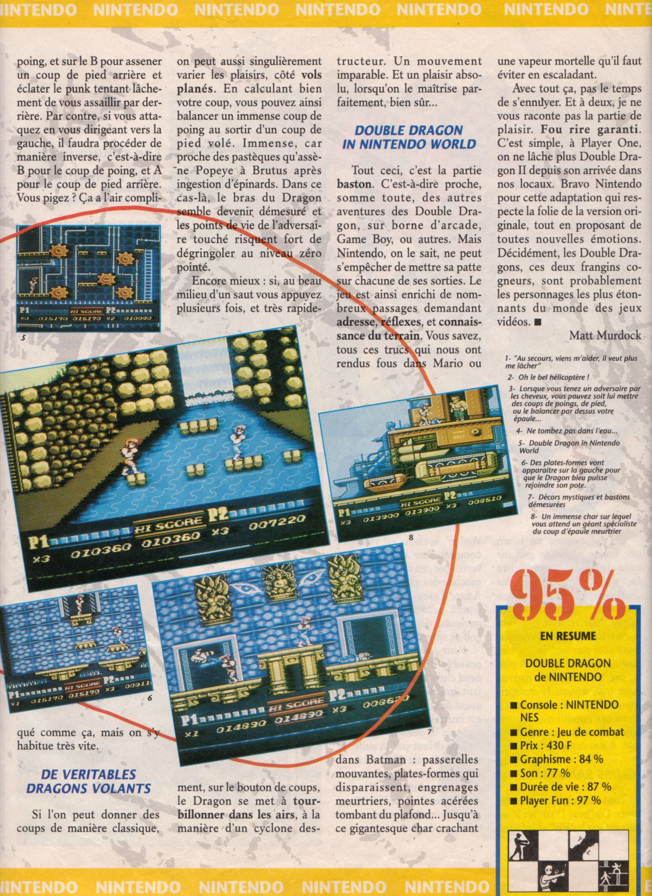 [Jeux]   DOUBLE DRAGON II (NES) 1989. Player%20One%20003%20-%20Page%20029%20(1990-11)