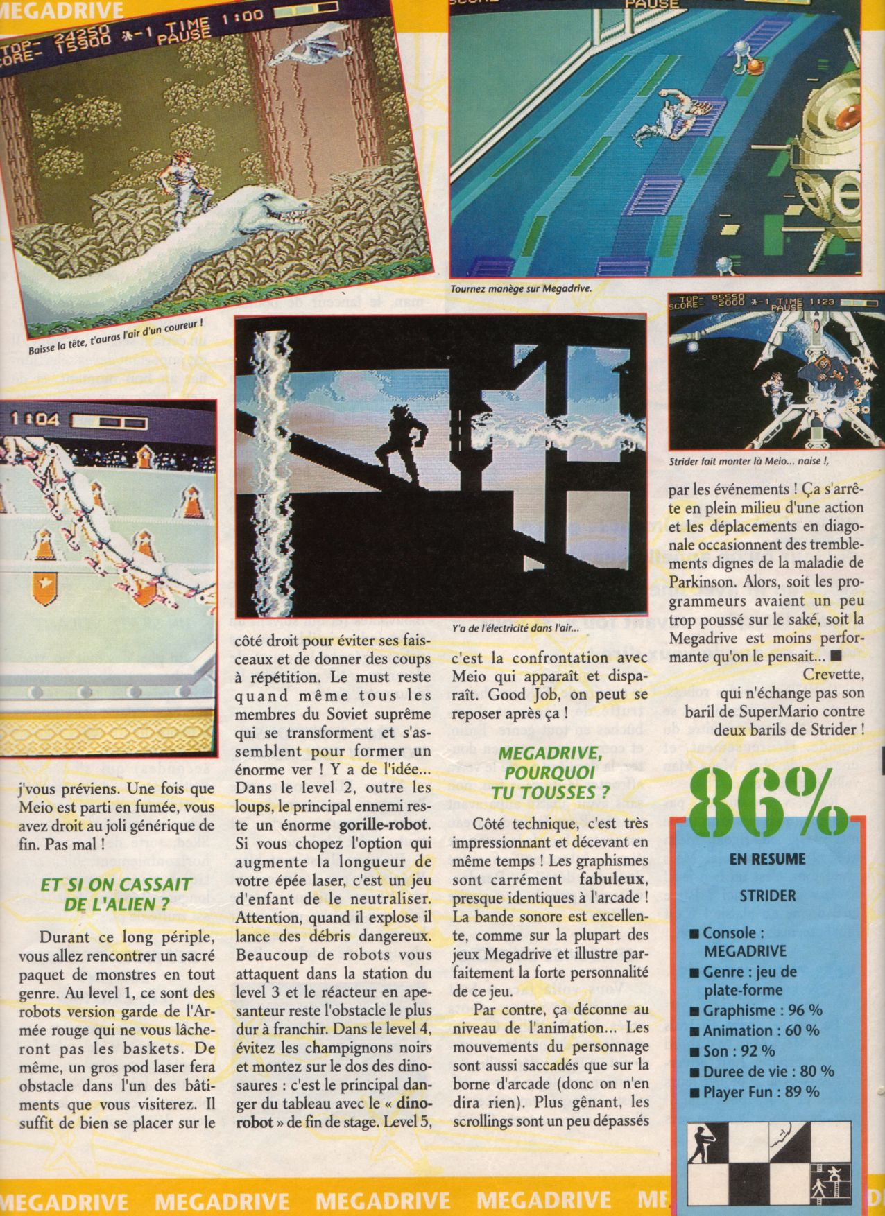 [Jeux] STRIDER (Mega Drive) 1990. Player%20One%20007%20-%20Page%20027%20(1991-03)