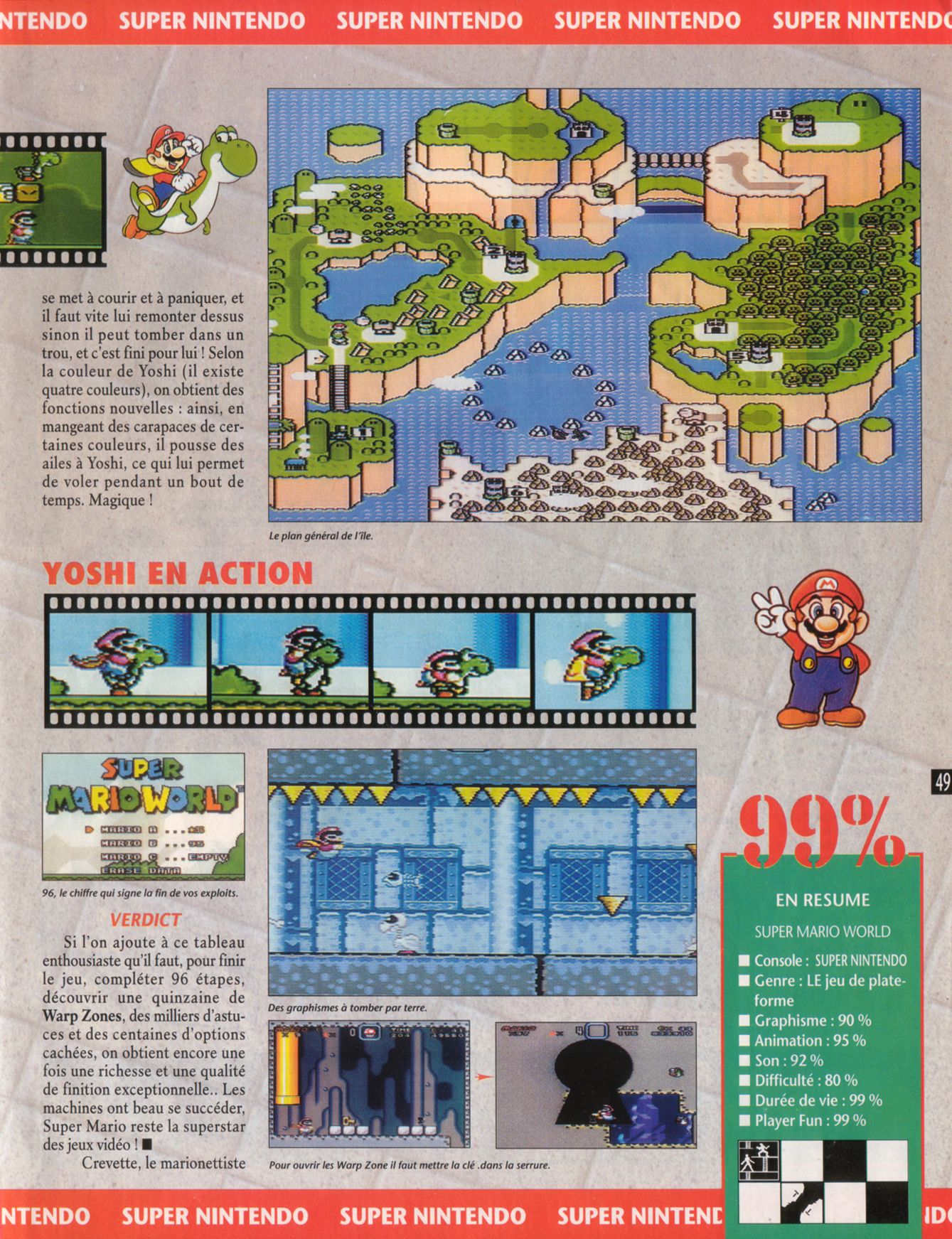 MEGADRIVE vs SUPER NINTENDO : Fight ! - Page 4 Player%20One%20019%20-%20Page%20049%20%281992-04%29