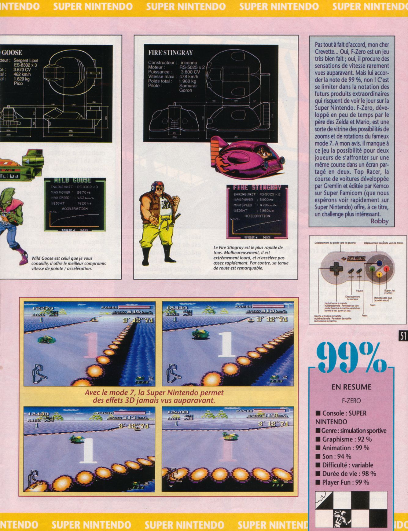 MEGADRIVE vs SUPER NINTENDO : Fight ! - Page 4 Player%20One%20020%20-%20Page%20051%20%281992-05%29