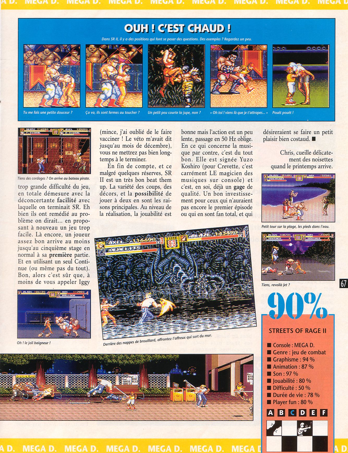 MEGADRIVE vs SUPER NINTENDO : Fight ! - Page 27 Player%20One%20027%20-%20Page%20067%20%281993-01%29